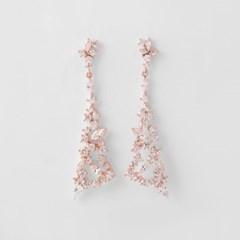 [쥬디앤폴] 알리시아 크리스탈 칵테일 드롭 귀걸이 E50520