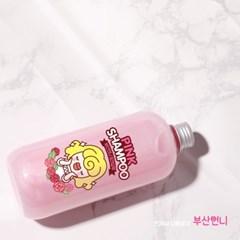 부산언니 X 일루일리 핑크 샴푸 500g