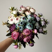빈티지 라넌큘러스 인테리어 조화꽃장식(6color)