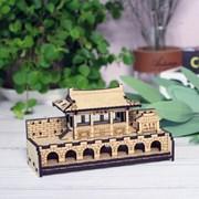 [ 모또 나무 입체퍼즐] 수원화성 사적 제3호 화홍문 만들기