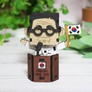 [ 모또 나무 입체퍼즐] 백범 김구 만들기 삼일절 독립운동가