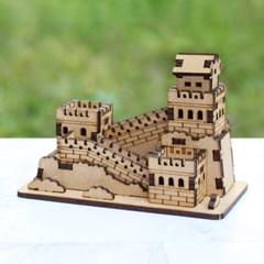 [ 모또 나무 입체퍼즐] 중국의 만리장성 만들기 입체퍼즐