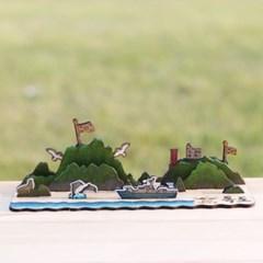 [ 모또 나무 입체퍼즐] 독도 만들기 입체퍼즐