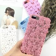 벚꽃 실리콘 아이폰 케이스