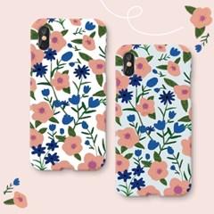 핑크꽃무늬 하드 케이스_(1493494)