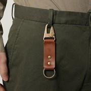 904 Key Ring Brown