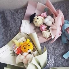 스마일&라이언 비누꽃꽃다발