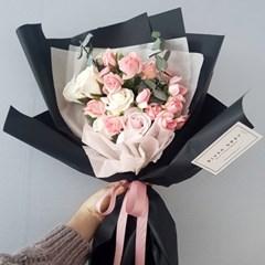 프렌치장미 비누꽃꽃다발
