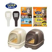 가오 냥토모 시스템 고양이 화장실 돔형_(892795)