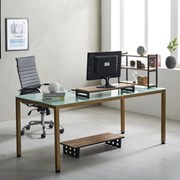 몬드 1800 책상 국내산 철제 노트북 컴퓨터 테이블책상_(2186818)