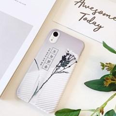 오늘맑음(꽃) 핸드폰케이스/아이폰 갤럭시 XS XR S8 S9 맥스 플러스