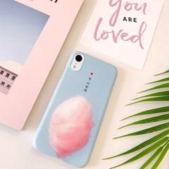 솜사탕 핸드폰케이스/아이폰 갤럭시 XS XR S8 S9 맥스 플러스