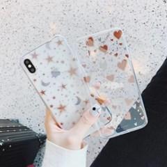 사랑의별 투명 아이폰 케이스