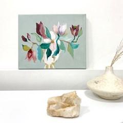[텐텐클래스] (연남) 특별한 꽃 선물, 플라워 페인팅 클래스