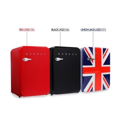 보만 106L 인테이리어 디자인 레트로 냉장고