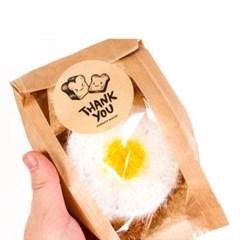 [계란후라이토스트 수세미 세트] 핸드메이드 100% 손뜨개선물