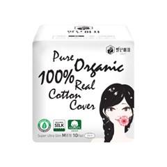 별난여자 실크적용 유기농생리대 4팩세트