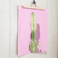 선인장 핑크 패블릭 포스터