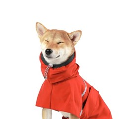 OUTDOOR RAIN COAT [RED]