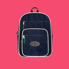 [위글위글] Funky Backpack 백팩-Navy