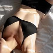 비브비브 bralette - Black (만세브라렛)