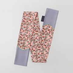 Paisley Long Tie Scarf