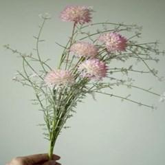 엉겅퀴 인테리어 조화꽃장식(3color)