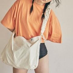 shirring shoulder hobo bag_ivory