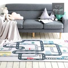 에시앙 자동차 플레이 도로매트 놀이매트 (사각/L size)