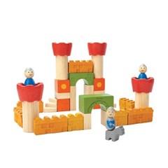 플랜토이즈 원목교구 학습완구 성쌓기 놀이 5651_(1560873)