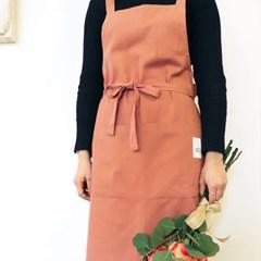 베이직 앞치마 (핑크)