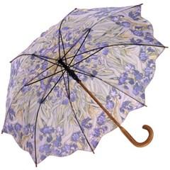 아이리스 - 원목 자동장우산