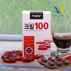 크릴오일 100 30캡슐 오메가3 EPA DHA