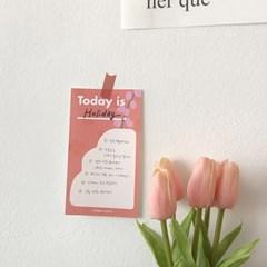 Fleur vase Memo Pad