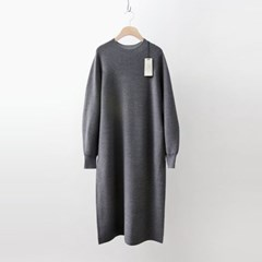 Hoega Wool Volume Long Dress