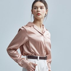 VISCOSE-BLOUSE PINK