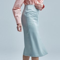 H_LINE SLIT SKIRT MINT