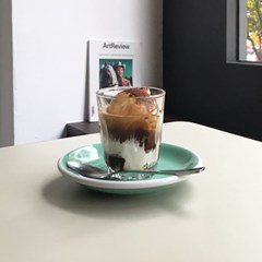 cafe series - glass cup I