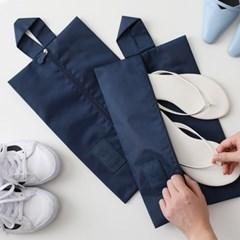 이지트래블 여행용 신발 파우치2P