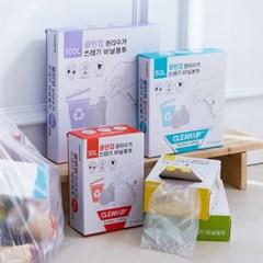 클린업 분리수거 쓰레기 비닐봉투_20L(100매)