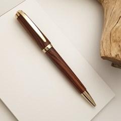 나모 코코볼 골드 펜, 이니셜 각인, 수제 고급 원목 볼펜