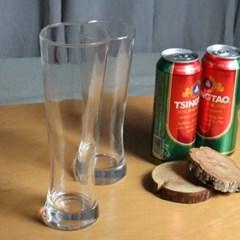 홈카페 유리잔 슬림 라이트 유리컵