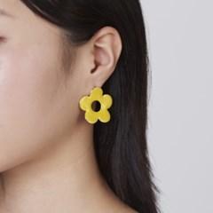 칼라 꽃 귀걸이