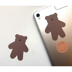 cookie teddy bear sticker
