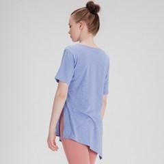 모달 슬러브 사이드 슬릿 티셔츠 DFW5010 소라
