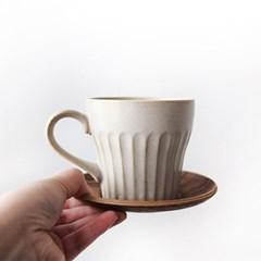 화이트 도자기 머그잔 (커피잔, 손잡이 커피잔, 라떼잔)
