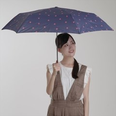 [UMBRELLA] smart light heart carbon mini