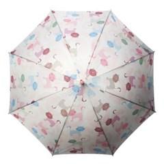 [rain s.] 레인스토리 자동 장우산 - 낭만고양이