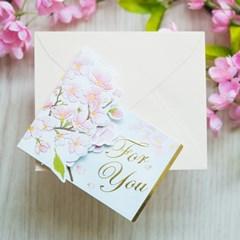 디원 벚꽃 팝업카드 (JD20)