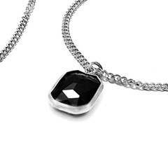 [MARK-4] NECKLACE MULTIPLE ONYX
